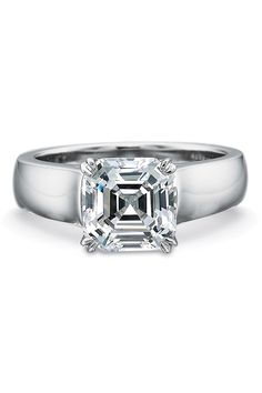 Precision Set 5mm Wide Flush Fit Semi Mount Ring | Oster Jewelers #mydiamondstyle #mybridalstyle
