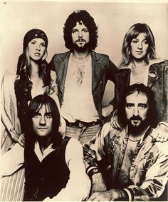 Fleetwood Mac.. Favorite band of all time thanks to my Daddy