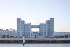 Completed in 2015 in Jinan, China. Images by Yong Zhang. Located in the center of the college, the Library of Shandong Normal University is the most important building. The new library connects the...