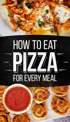 How To Eat Nothing But Pizza For Every Single Meal