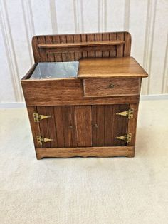 A Schilling - dry sink