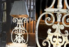 Iron Table Lamp | Wrought Iron Table Lamp With Shade
