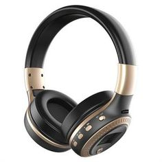 Portable Multifunction Foldable Bluetooth Wireless Headset Headphones with Microphone with Card Slot #bluetooth #headphones #earphones #wireless #fashion #style
