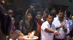 Bollywood actress Priyanka Chopra attended the Ganesh puja