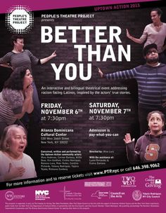 Peoples Theatre Project - Better Than You