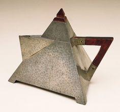 Hammered Teapot - William Hutton & Sons, circa 1920