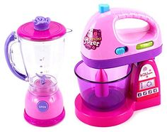 Happy Kitchen Blender & Mixer Kitchen Appliances Toy Set for Kids with Light Up Swirling Colors Happy Kitchen, Toy Kitchen, Kitchen Appliances, Wolf Appliances, Retro Appliances, Kitchen Retro, Small Appliances, Little Girl Toys, Toys For Girls