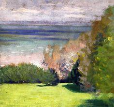 Felix Vallotton (Swiss 1865-1925) The Park at Villerville (1902)