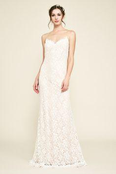 Tadashi Shoji Marlowe Lace Gown