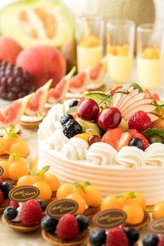 Japanese sweets【ホテルオークラ福岡】果物スイーツがいっぱい!『デザートブッフェ』開催