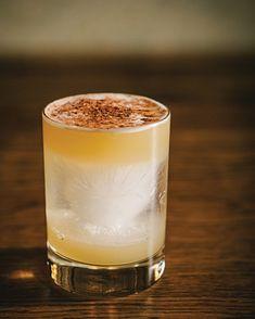 lust for life - mezcal, sherry, orgeat, pineapple juice, lemon juice Cocktail Mixers, Cocktail Recipes, Drink Recipes, Mezcal Cocktails, Happy Drink, Non Alcoholic Drinks, Beverages, Cocoa, Liqueurs