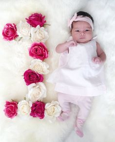 Celine Amalie @ 1 month 💕👼😘😘  #mybaby #myprincess #myangel  #norwegianasianbaby