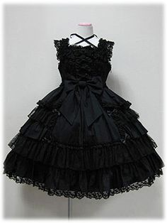 Angelic Pretty  Secret Princess Jsk in black