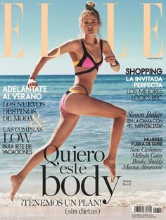 Elle Spain May 2015 - Michelle Buswell