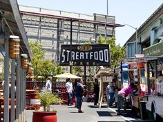 Soma Streat Food Park in San Fran!  Food Truck Heaven!