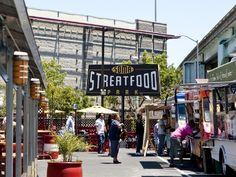 Soma Streat Food Park in San Fran!  Food Truck Heaven!