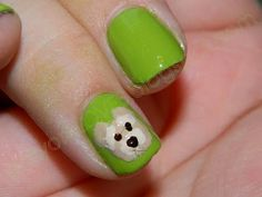 Ted The Movie Nails! We love Ted!