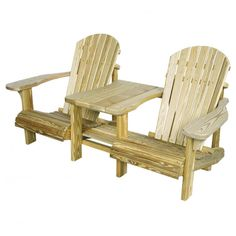 Amish Pine Adirondack SetteeAmish Outdoor Settees | Pinecraft.com • Settees, Tete-a-tete's, Gliders, Poly, Pine & More
