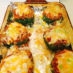 Stuffed Mexican Peppers Allrecipes.com