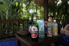 Refreshments at Waterbom water park, Bali, Indonesia