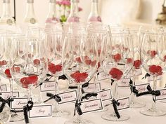 Name tags or if too confusing little ADPi tags or ribbon on our glasses! Just a little something extra :)