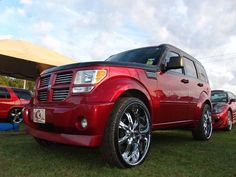 Custom Cars with Butterfly Doors | custom Dodge Nitro | Sweet Rides | Pinterest