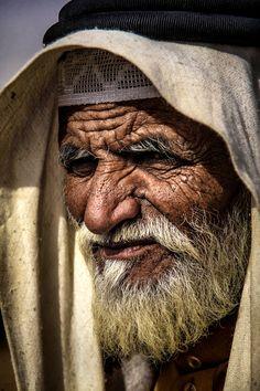 Old arabic man by Ahmed Sameer