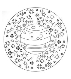 Mandala Coloring Pages Printable. Collection of Mandala coloring pages. You can find mandala images to color, from easy to hard. Planet Coloring Pages, Space Coloring Pages, Pumpkin Coloring Pages, Free Adult Coloring Pages, Coloring Pages For Girls, Mandala Coloring Pages, Printable Coloring Pages, Coloring For Kids, Coloring Books