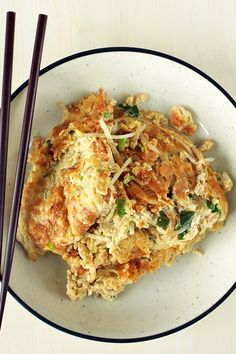 Stir-Fried Egg Foo Young | Recipe | Mushrooms, Eggs and ...
