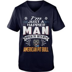Happier Man With AMERICAN PIT BULL #gift #ideas #Popular #Everything #Videos #Shop #Animals #pets #Architecture #Art #Cars #motorcycles #Celebrities #DIY #crafts #Design #Education #Entertainment #Food #drink #Gardening #Geek #Hair #beauty #Health #fitness #History #Holidays #events #Home decor #Humor #Illustrations #posters #Kids #parenting #Men #Outdoors #Photography #Products #Quotes #Science #nature #Sports #Tattoos #Technology #Travel #Weddings #Women
