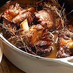 Try this Lamb Shanks Stock Pot recipe by Chef Marco Pierre White.