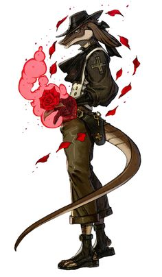 R'zonand the Rose Red from Terra Battle