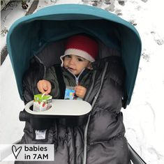 We 💙 Winter #7amwintermoments especially if they involve the SNOW! ~ @simplyravishing Thank you for sharing your Winter Moments with 7AM 💞 Click to shop Blanket 212 Evolution - The only bunting that grows with your baby ⠀ #7amenfant #blanket212evolution #babiesin7am #winter #stroller #bunting #footmuff #warm #cozy #baby #babies #motherhood #mom #dad #fashion #vegan #babyfashion