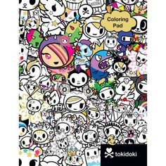 Tokidoki Coloring Pad (Stationery)