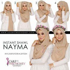 Tutoriels Hijab Simples Et Faciles 1