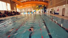 Pool opening: Bathers can now enjoy a swimming pool and a internal flume at Fraserburgh Community Sports Centre. A pool hoist is available for disabled access to the swimming pool.