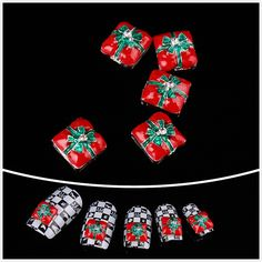 Nails gaga wholesale 100pcs White bowknot 3D Alloy Nail Art New arrival by CoCo-Shop >>> You can get more details by clicking on the image.