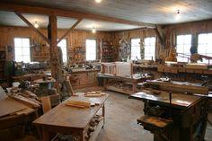 barn workshop. BOING.