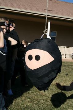darling pinata and other ninja ideas