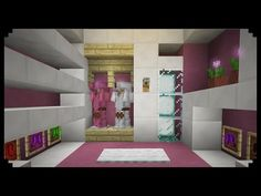 ✔ Minecraft: How to make a Walk-in Closet (Girly Edition) - YouTube