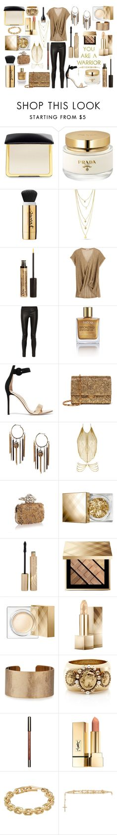 """""""break the chain"""" by royceri ❤ liked on Polyvore featuring Tom Ford, Prada, NYX, Calypso St. Barth, Helmut Lang, Isadora, Gianvito Rossi, Michael Kors, Agent Provocateur and Jimmy Choo"""