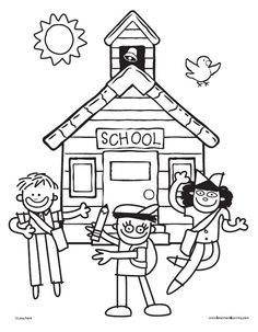 All About My School Poster Printable from Lakeshore