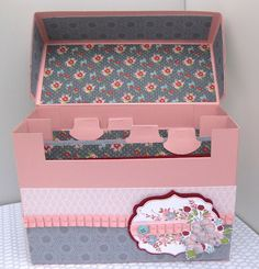 Stampin Up Demonstrator UK: Stampin' Up! Twitterpated Recipe Index Card Box Tutorial