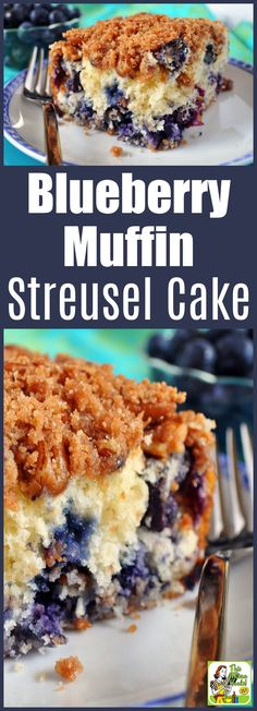 Make Blueberry Muffin Streusel Cake for brunch or a work breakfast meeting. - Make Blueberry Muffin Streusel Cake for brunch or a work breakfast meeting. This recipe is easy to - Blueberry Muffin Cake, Easy Blueberry Muffins, Blue Berry Muffins, Blueberries Muffins, Blueberry Recipes Easy, Blueberry Recipes For Breakfast, Recipes With Blueberries, Blueberry Strudel, Blueberry Cookies