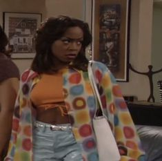 """Tichina Arnold was the finest one on Martin 🤷🏽‍♂️believe what you want"" Black 90s Fashion, Fashion Tv, 2000s Fashion, Fashion Outfits, Black Girl Aesthetic, 90s Aesthetic, Tichina Arnold, Black Sitcoms, Black Women"