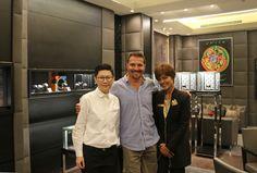 visiting @Hublot boutique Bangkok Central Embassy @PMTTHEHOURGLASS
