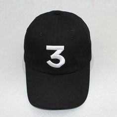 Popular Singer Chance The Rapper Chance 3 Cap Black Letter Embroidery Baseball Cap Hip Hop Hip-hop Snapback Gorras Casquette #clothing,#shoes,#jewelry,#women,#men,#hats,#watches,#belts,#fashion,#style