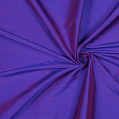 Dark Iridescent Purple Solid Shantung/Dupioni Fabric by the Yard   Mood Fabrics