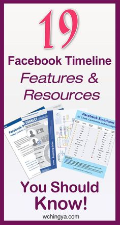 19+ Facebook Timeline Features and Resources You Should Know!