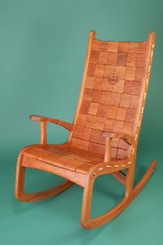 Jim Geier's rocking chair is the most beautiful and comfy chair I will soon own!